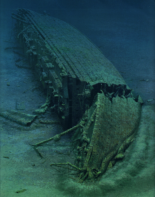 Britannic echo picture
